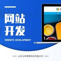教育网站学校网页界面定制设计前端后台开发建站仿站切图H5UI