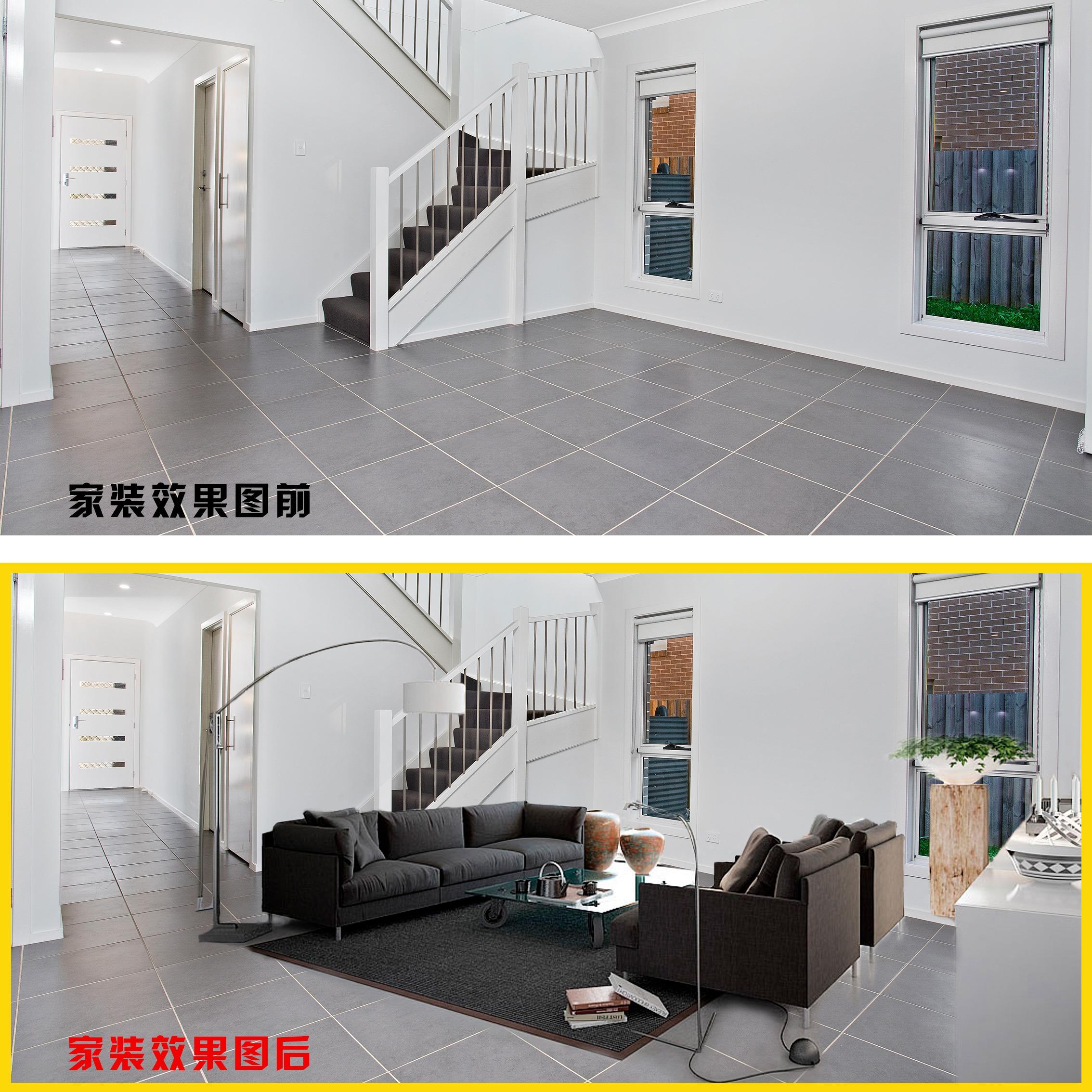 产品外观精修P家装修室内效果图办公室/展厅/外景/工程效果图