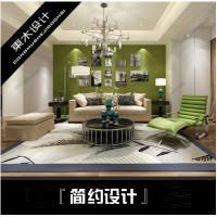 3d效果图极简风格,宜家风格设计,现代简约风格,家装简约设计