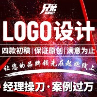 logo 设计餐饮公司 LOGO 设计产品企业门店标志品牌卡通食品