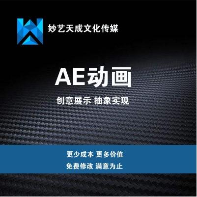 AE动画制作、设计、片头动画、FLASH动画、二维动画制作