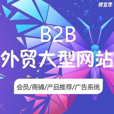 英文B2B网站建设 外贸大型网站开发 多语言网站设计