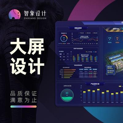 智能大屏设计/数据展示设计/大数据智能屏/智能展示设计