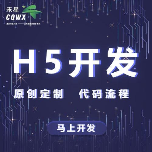 H5开发企业定制H5会议H5品牌H5策划前端开发政府项目