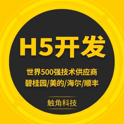 H5页面定制开发公司年会H5制作微现场微场景网页H5微信H5