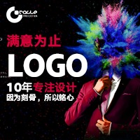 logo设计LOGO品牌设计标志设计企业图文logo设计