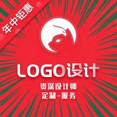 公司logo设计标志设计动态卡通logo设计商标设计