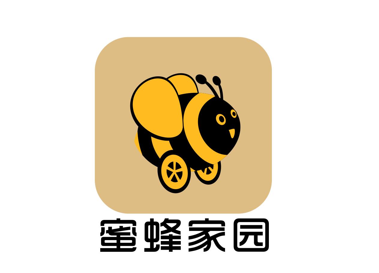 蜜蜂家园LOGO设计