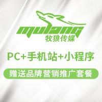 PC手机站小程序定制设计开发企业网站建设企业官网仿站模板建设