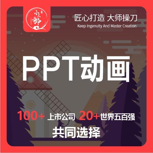 PPT动画制作年会片总结动画制作流程动画制作定格动画
