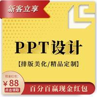 PPT设计制作商业演讲招商路演工作汇报课件排版优化ppt美化