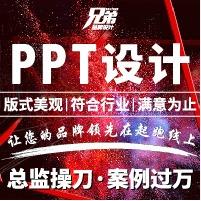 ppt设计PPT制作ppt美化路演招商ppt 策划 公司ppt