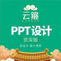 PPT定制美化制作会议年会路演创意设计宣传高端ppt排版精美