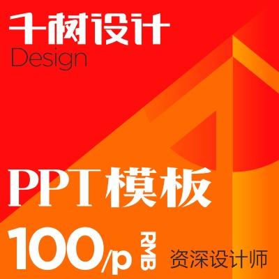 PPT 模板定制设计企业品牌公司产品宣传册画册 PPT 模版修改