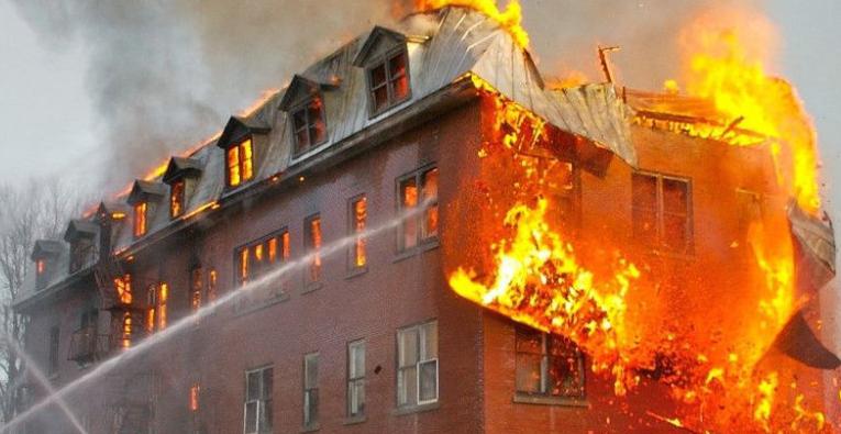 火灾——分不清天与地的界线