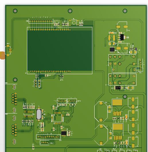 矩阵音频声源定位语音频识别电子线路原理图PCB项目程序开发