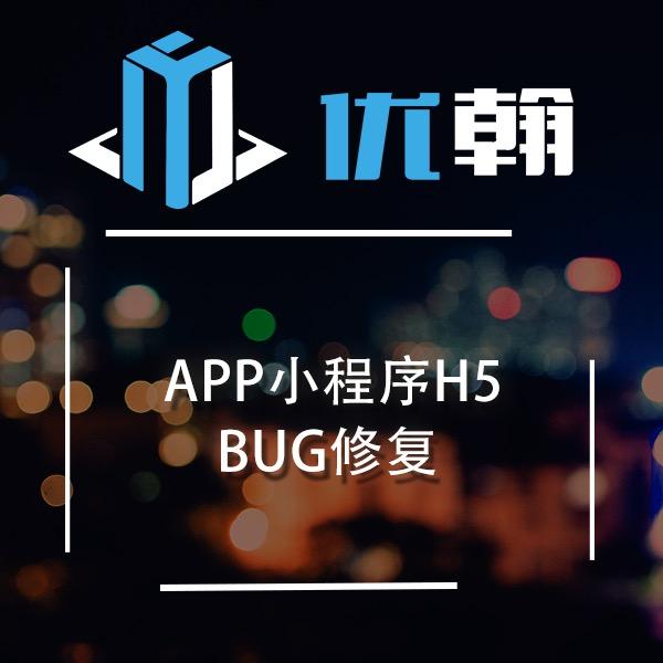 APP小程序H5BUG修复安卓BUG修复iosBUG修复