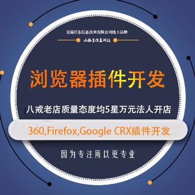 浏览器插件360,google crx插件开发,谷歌油猴开发
