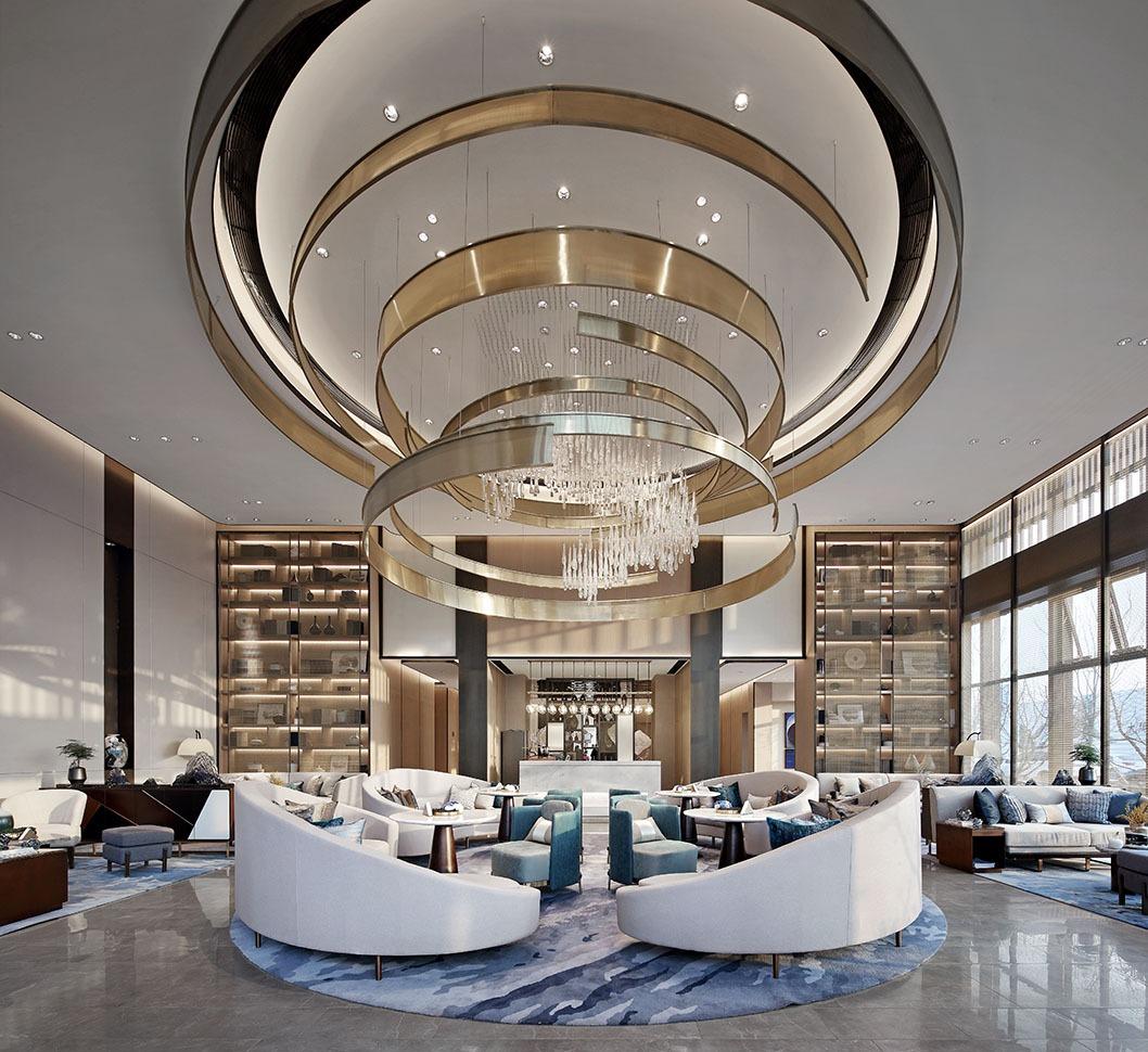 售楼部设计售展中心设计售楼部效果图房地产公司设计