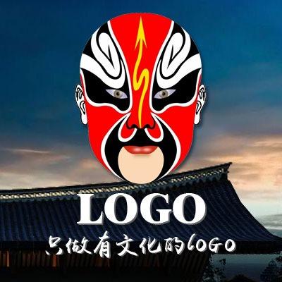公司企业卡通 logo 设计图文标志字体图标商标设计ico设计光