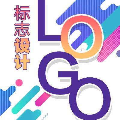 卡通图标图文字体商标LOGO设计公司企业品牌标志logo设计