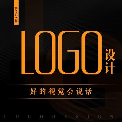 公司企业餐饮教育品牌商标标志图文字体卡通英文logo动画设计