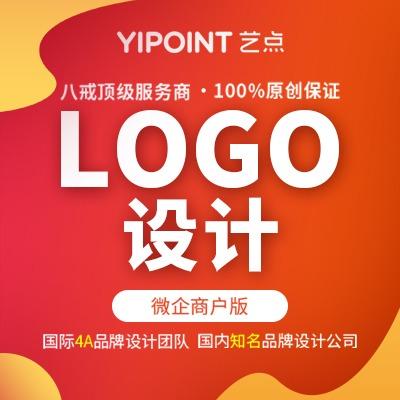 艺点公司logo设计动态卡通字体设计LOGO设计标志商标设计