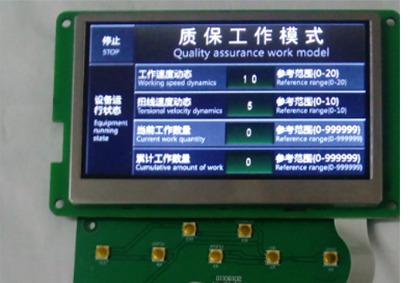 工业设备控制板串口屏电路板控制板开发设计