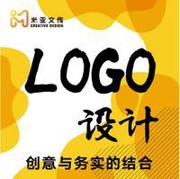 公司企业logo设计图文标志字体设计图标平面设计logo