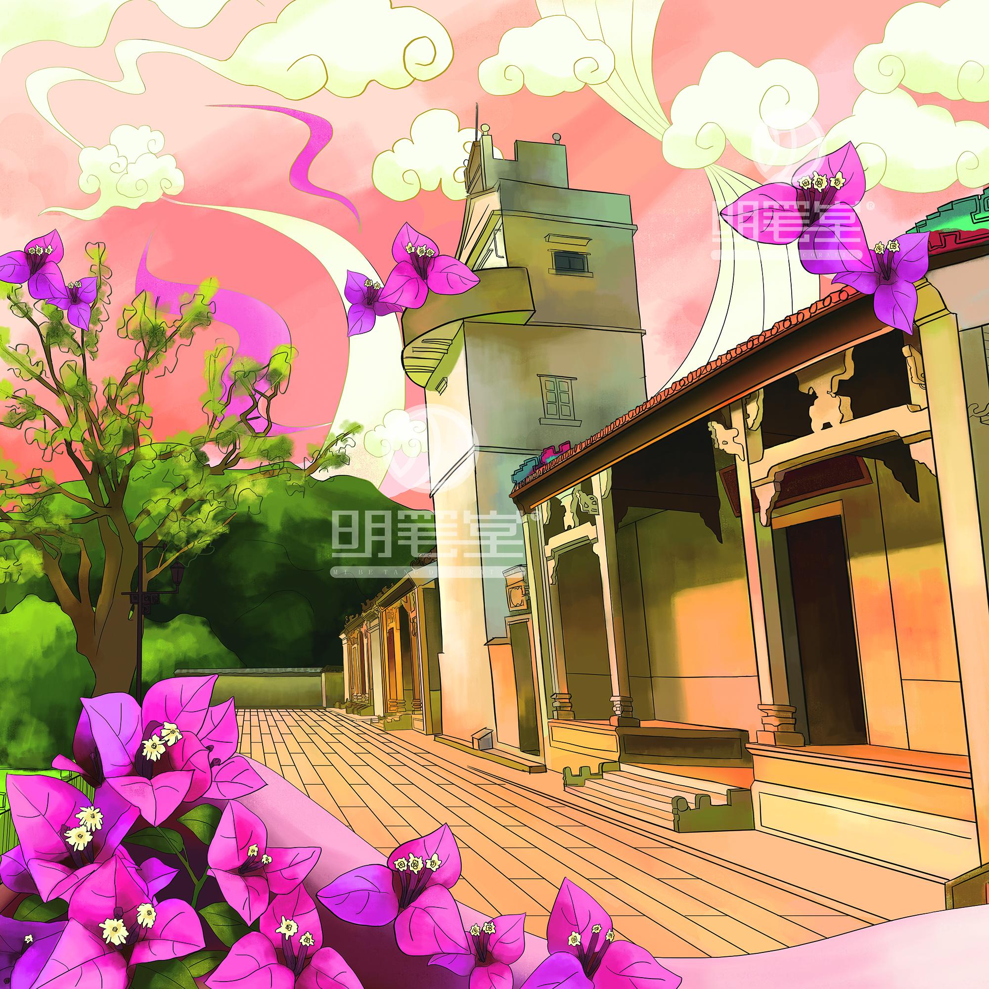 日韩欧美中国风插画漫画设计吉祥物插画包装设计儿童绘本插画设计