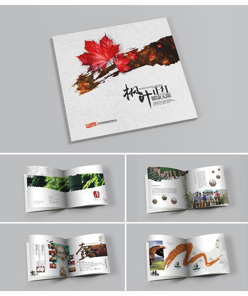 宣传册设计_企业画册宣传册设计册子产品手册宣传品公司图册相册宣传栏礼品册8
