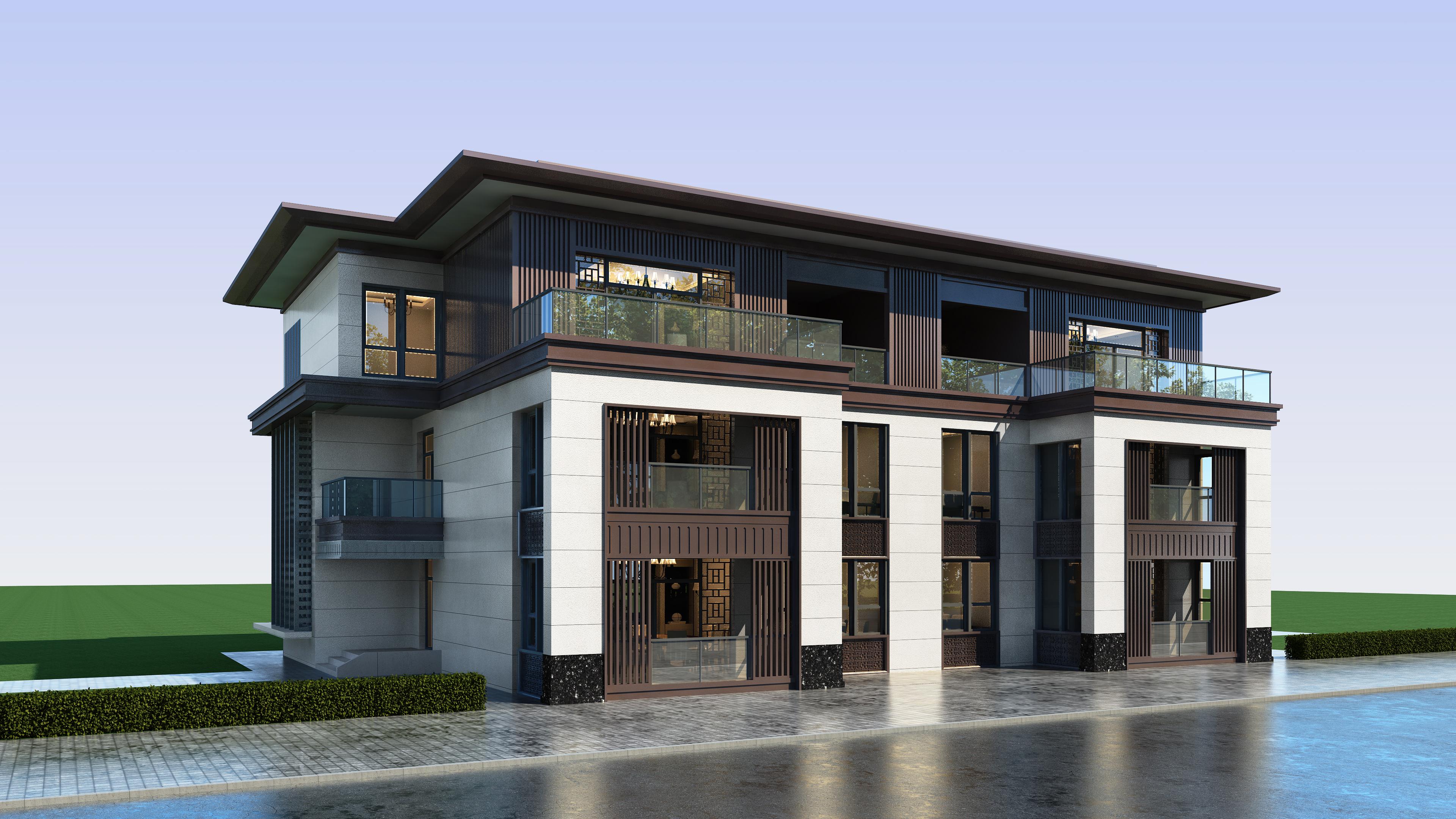 自建房设计别墅 私人住宅方案设计【资深设计师原创作品】