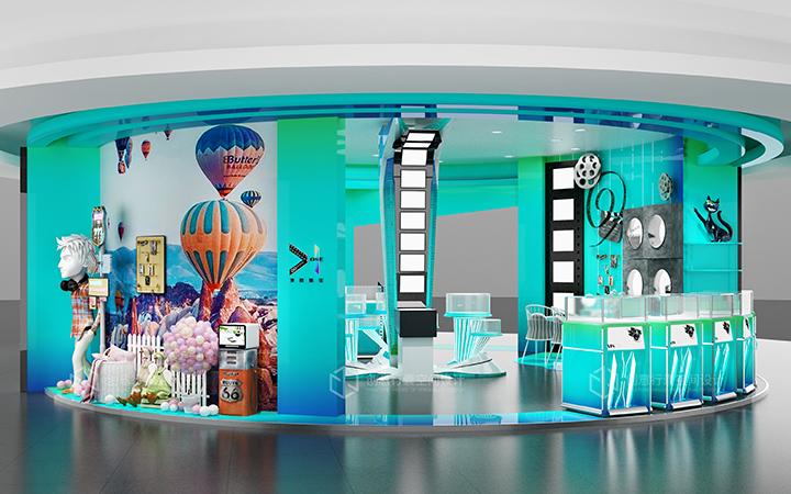 【门店设计】 装修设计室内设计购物店面空间公装设计餐饮店面
