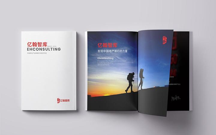 画册设计产品公司企业宣传册杂志宣传彩页三折页项目招商手册排版