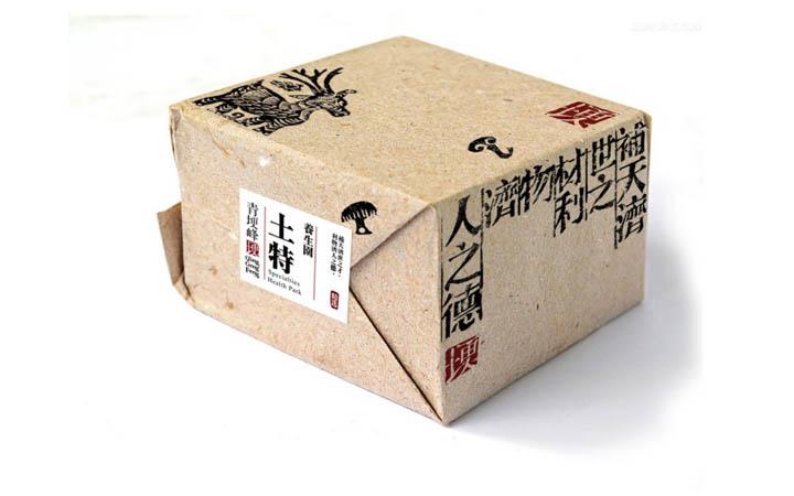 包装设计包装盒手绘包装袋包装箱插画国潮风格礼盒手提袋瓶贴设计