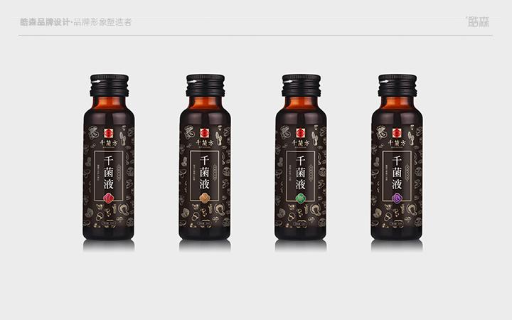 皓森设计创意包装设计餐饮零食农业副食包装袋设计瓶贴标贴手提袋