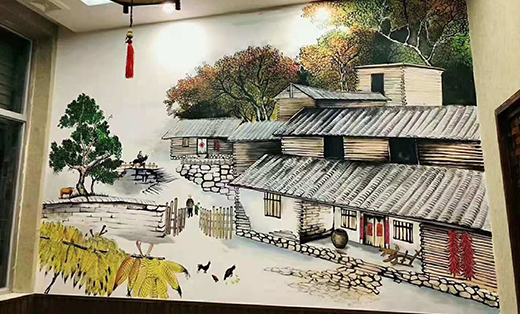 墙绘上门   文化墙墙绘壁画手绘涂鸦公司创城文化墙