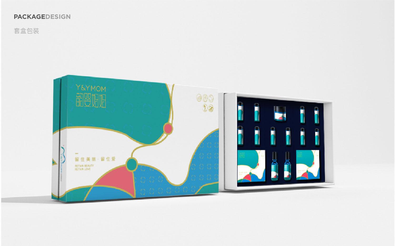 包装盒设计套盒包装手提袋瓶贴高级化妆品茶叶保健品包装设计