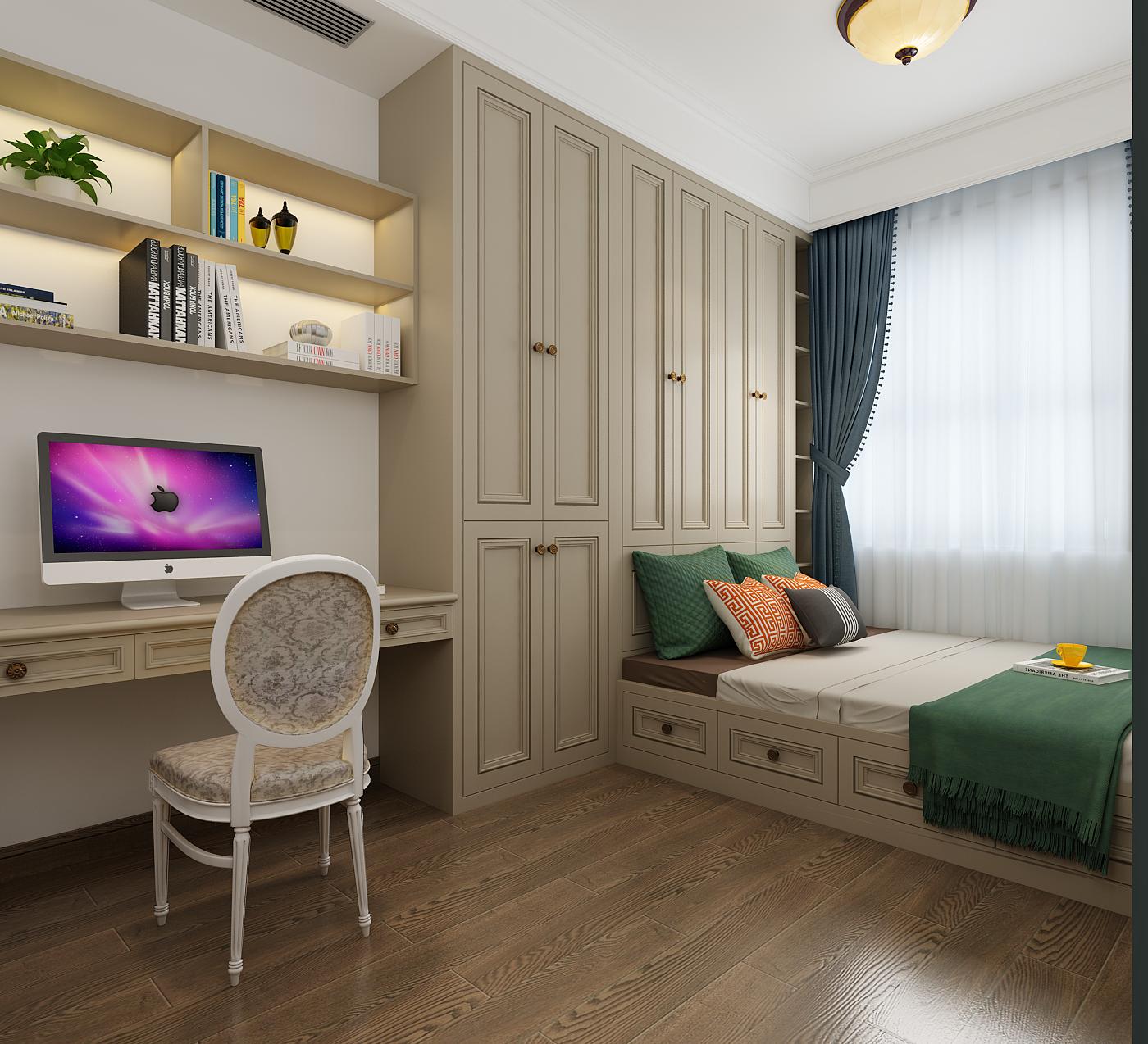 家装设计 简欧风格装修设计 室内设计 美式风装修设计 效果图