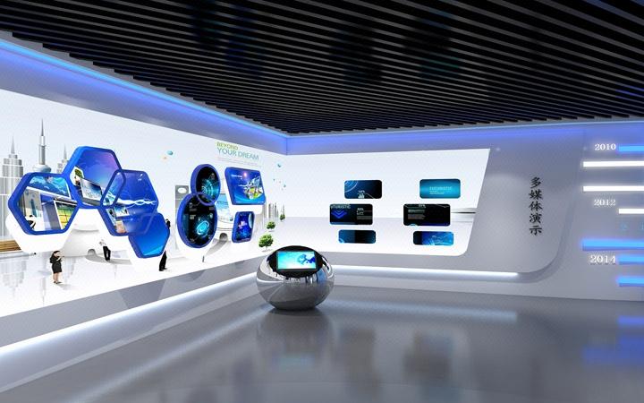 展厅展馆设计 博物馆企业展厅科技展厅规划展厅展览党建展厅