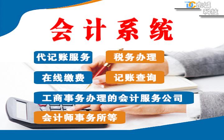 微信小程序开发/会计系统/代记账服务/税务办理/记账查询