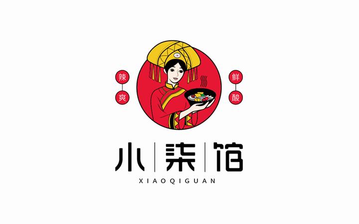 手绘公司IP吉祥物卡通形象logo设计人物公仔设计插画可注册