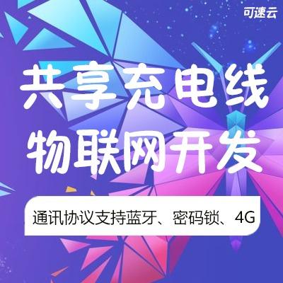 物联网手机共享充电线 密码锁/蓝牙 成熟运营稳定系统平台
