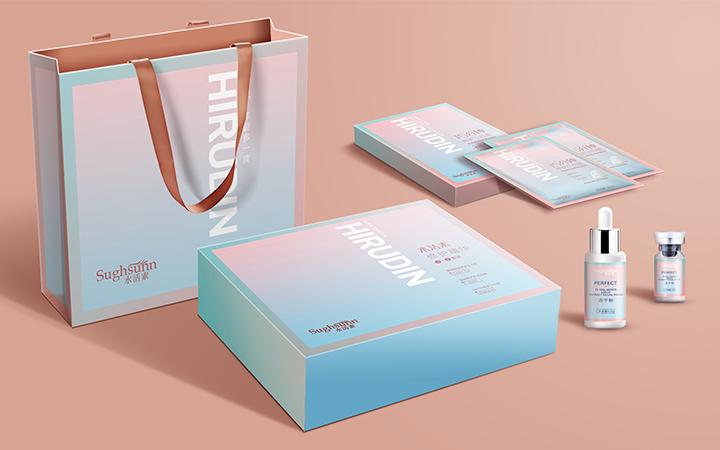 药品品牌包装纸盒平面设计公司vi销售包装设计海报画册