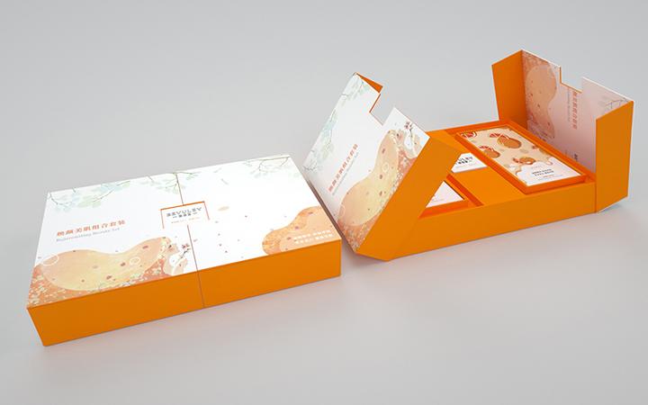 礼盒包装设计------餐饮零食农业副食包装袋设计平面设计