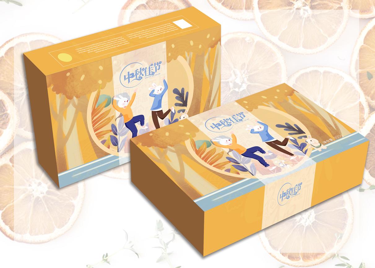 包装盒袋设计瓶贴标签logo设计商标插画包装礼盒手提袋设计