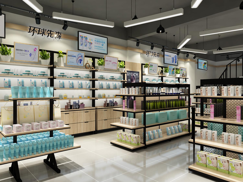 效果图装修设计店面店铺设计品牌设计室内设计空间设计门头设计