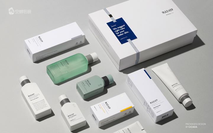 空蝉品牌包装设计礼盒包装包装盒设计运输包装产品包装设计