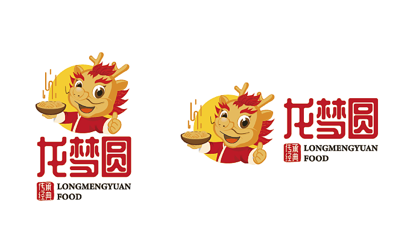 卡通logo原创意插画手绘设计IP形象Q版人物插画吉祥物漫画