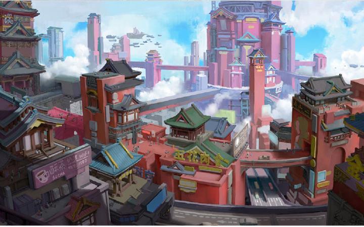 游戏原漫画人物卡通形象角色场景动漫四格手绘模型影视频剧设计